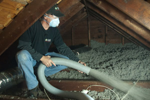 Cellulose Insulation Installation In Greater Kansas City, KS